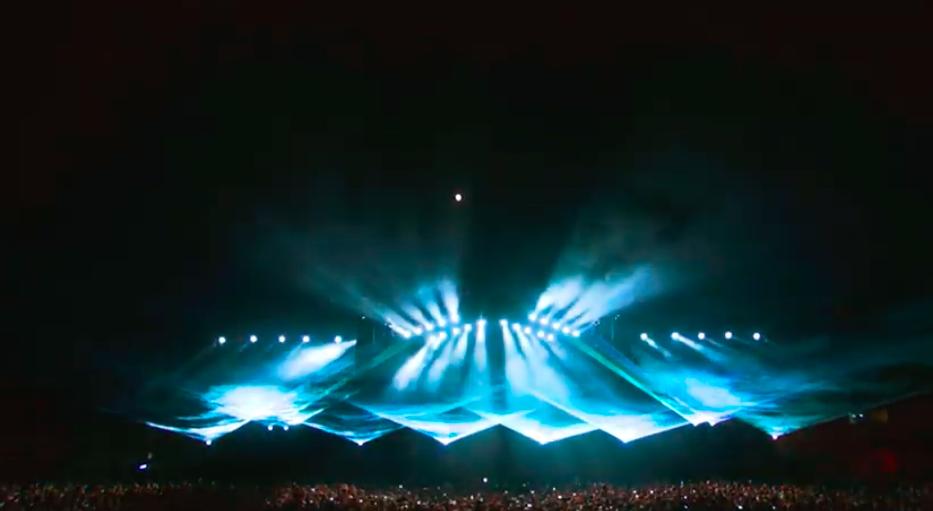 Barcelona Beach Festival 2019 Lasershow