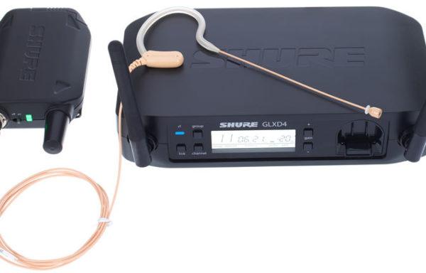 Alquiler-GLXD14/MX53 , con micrófono earset subminiatura MX153